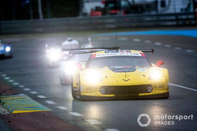 "#63 Corvette Racing, Corvette C7.R: Jan Magnussen, Antonio Garcia, Mike Rockenfeller <span class=""copyright"">Joe Portlock / Motorsport Images</span>"