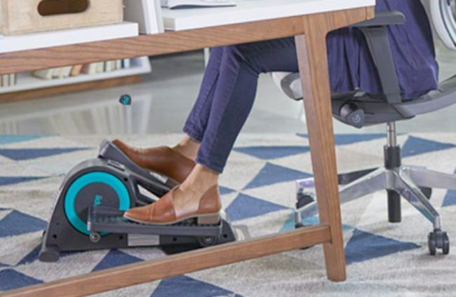 Get a work out, while you sit at your desk. (Photo: Amazon)