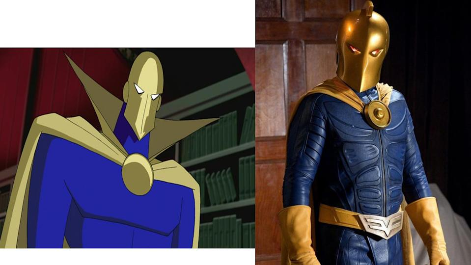 The DC animated universe and Smallville are among the few places outside comics Doctor Fate has turned up.