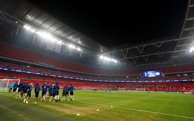 Spurs have been playing at Wembley, where the pitch has suffered from a packed schedule - Action Images via Reuters