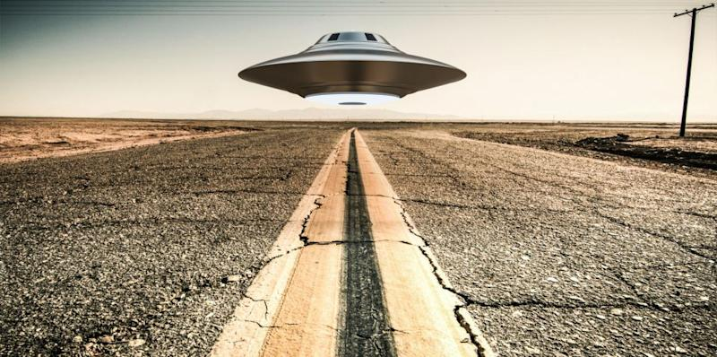 The image has sparked concern from UFO experts. Photo: Getty