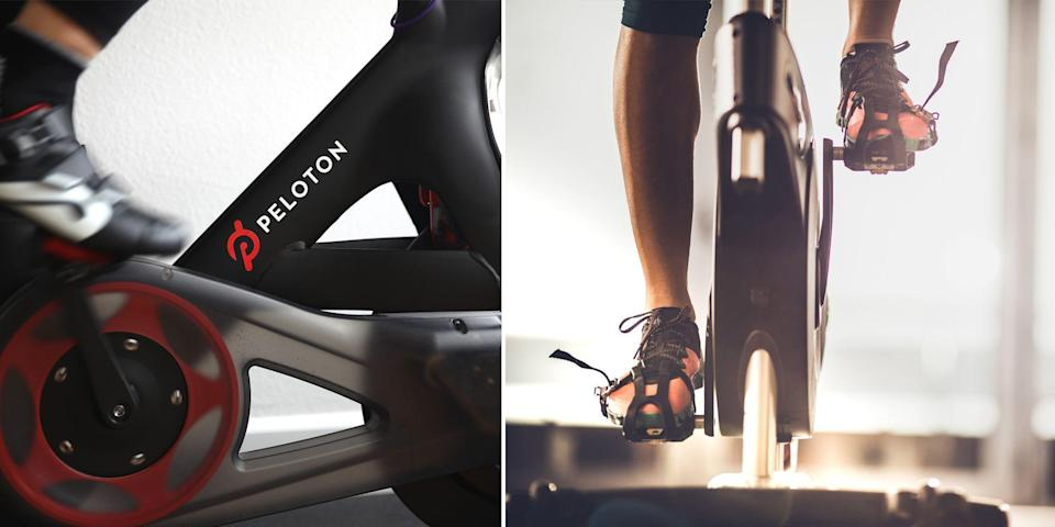 """<p>There's no question that <a href=""""https://www.onepeloton.com/"""" rel=""""nofollow noopener"""" target=""""_blank"""" data-ylk=""""slk:Peloton"""" class=""""link rapid-noclick-resp"""">Peloton</a> took the crown as the hottest piece of <a href=""""https://www.bestproducts.com/fitness/equipment/g533/cheap-home-exercise-equipment/"""" rel=""""nofollow noopener"""" target=""""_blank"""" data-ylk=""""slk:exercise equipmen"""" class=""""link rapid-noclick-resp"""">exercise equipmen</a>t in 2020. As people continue to avoid the gym and exercise studios, the <a href=""""https://www.onepeloton.com/"""" rel=""""nofollow noopener"""" target=""""_blank"""" data-ylk=""""slk:at-home spin bike"""" class=""""link rapid-noclick-resp"""">at-home spin bike </a>has become a must-have for people looking to safely get their sweat on. The downside? These bikes ain't cheap. <a href=""""https://www.onepeloton.com/"""" rel=""""nofollow noopener"""" target=""""_blank"""" data-ylk=""""slk:Peloton"""" class=""""link rapid-noclick-resp"""">Peloton</a> prices start at just under $1,900 and on top of that, you're looking at a $40 per month <a href=""""https://www.onepeloton.com/membership"""" rel=""""nofollow noopener"""" target=""""_blank"""" data-ylk=""""slk:membership fee"""" class=""""link rapid-noclick-resp"""">membership fee</a>. If you're asking if there's a cheaper alternative to Peloton, the answer is yes and we did the research for you. Read on for six peloton alternatives, most at least half the price of the original, that don't sacrifice quality. But first, consider these three questions as you shop. </p><h3 class=""""body-h3""""> Will I still be able to stream Peloton classes on my alternative bike?</h3><p class=""""body-text"""">One of the most notable features of a <a href=""""https://www.onepeloton.com/membership"""" rel=""""nofollow noopener"""" target=""""_blank"""" data-ylk=""""slk:Peloton"""" class=""""link rapid-noclick-resp"""">Peloton</a> is the included 22-inch HD touchscreen monitor that holds access to the service's full library of classes. As we mentioned above, the service will cost you $40 a month, but here's a pro tip: You can access <a href=""""https:"""