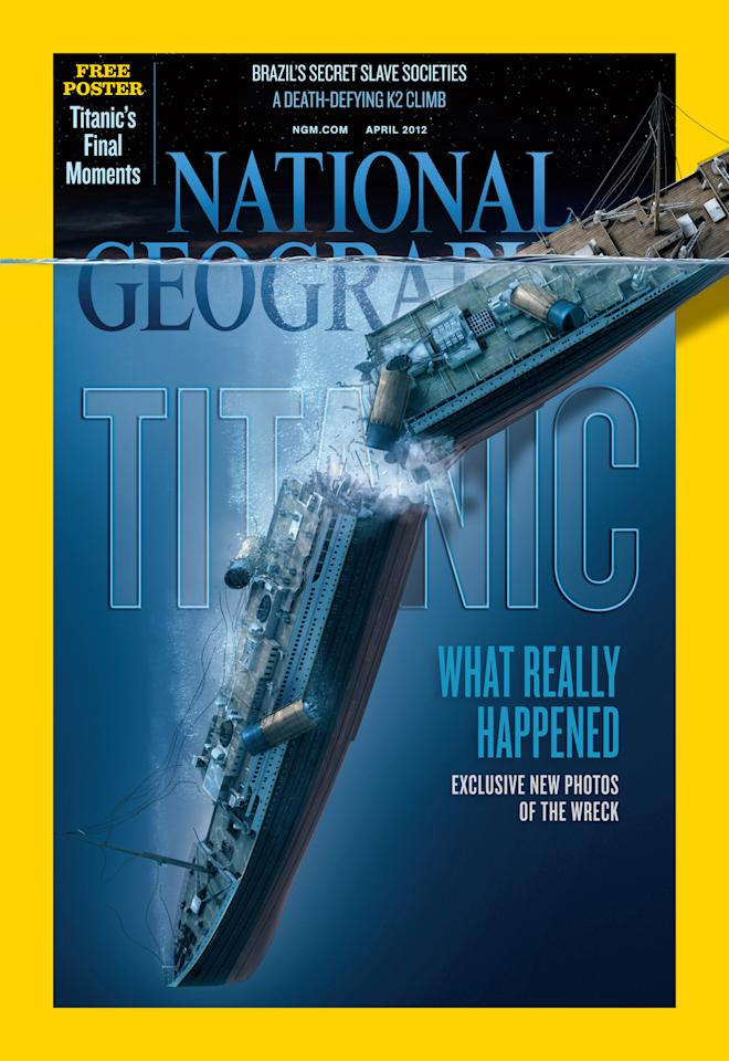 National Geographic Magazine's April issue.