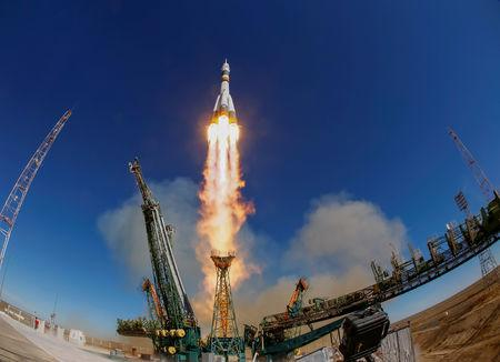 Soyuz MS-10 Abort Caused by the Collision of Rocket Components