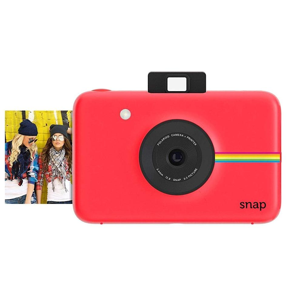 "<p>Take a photo and watch it print out before you can even say ""cheese"" with this <span>Polaroid Snap Instant Digital Camera</span> ($84, originally $90).</p>"