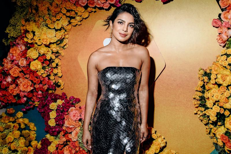 Lupita Nyon'go Attends Fellow Actress, Priyanka Chopra's Bridal Shower