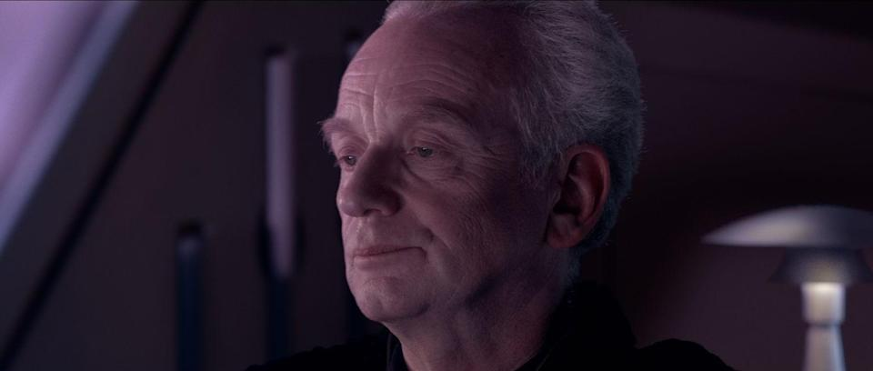 Smith was rumoured to be playing a younger version of Emperor Palpatine (credit: LucasFilm(