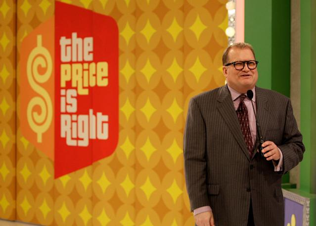 """A contestant on """"The Price is Right"""" used his short stint with fame to give a shoutout to his """"buddy"""" <a class=""""link rapid-noclick-resp"""" href=""""/nfl/players/30115/"""" data-ylk=""""slk:Mitchell Trubisky"""">Mitchell Trubisky</a>. (AP Photo/Kevork Djansezian)"""