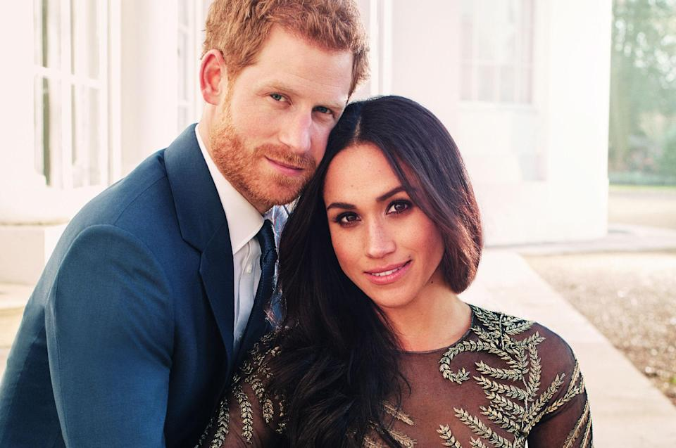Alexi Lubomirski took Harry and Meghan's official engagement photos at Frogmore house. [Photo: PA]