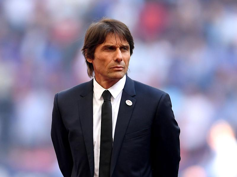 Antonio Conte is a strong contender to replace Julen Lopetegui at Real Madrid: Getty