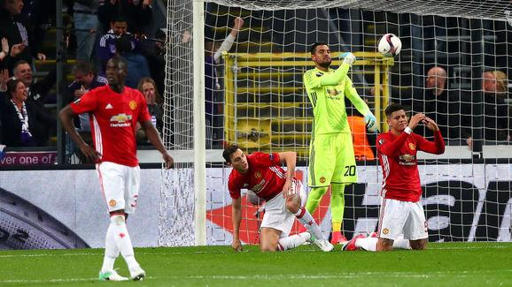 RSC Anderlecht v Manchester United - UEFA Europa League Quarter Final: First Leg