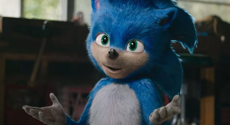 Sonic The Hedgehog will be here on Valentine's Day now