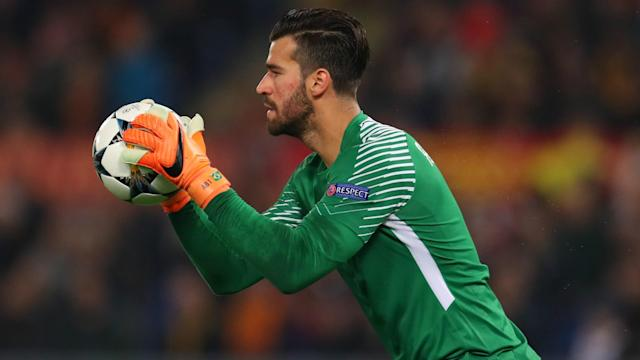 Alisson has been linked with Liverpool and Real Madrid, but Roma president James Pallotta has told them to forget about a possible transfer.