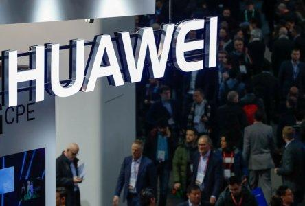 A logo of Huawei is seen during the Mobile World Congress in Barcelona, Spain, February 27, 2018. REUTERS/Yves Herman