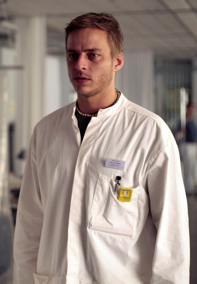 "German actor Tom Wlaschiha (seen here in the 2006 film ""The Cloud"") has been cast as the assassin Jaqen H'gar, who is known as a ""Faceless Man of Bravos."""
