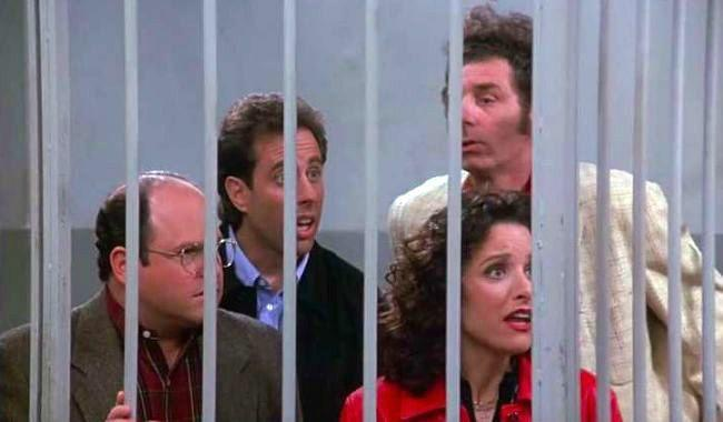 <p>With a reported 76 million people watching (seriously), <em>Seinfeld</em> remains one of the most watched series finales in history, but its big finish left its fans deeply divided. While the gang went to jail after witnessing a carjacking, but the real selling point was the laundry list of people who returned to act as character witnesses for these terrible humans. Some fans loved the finish. Others regarded it as disrespectful to both the characters and the intensely loyal fandom. Nevertheless, it remains a pivotal television moment-and Larry David made bank.</p>