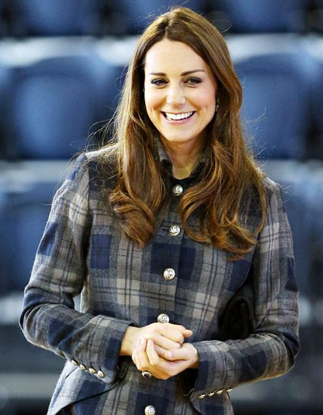 """Kate Middleton on Baby Names: """"My Friends Keep Texting Me"""" Suggestions"""