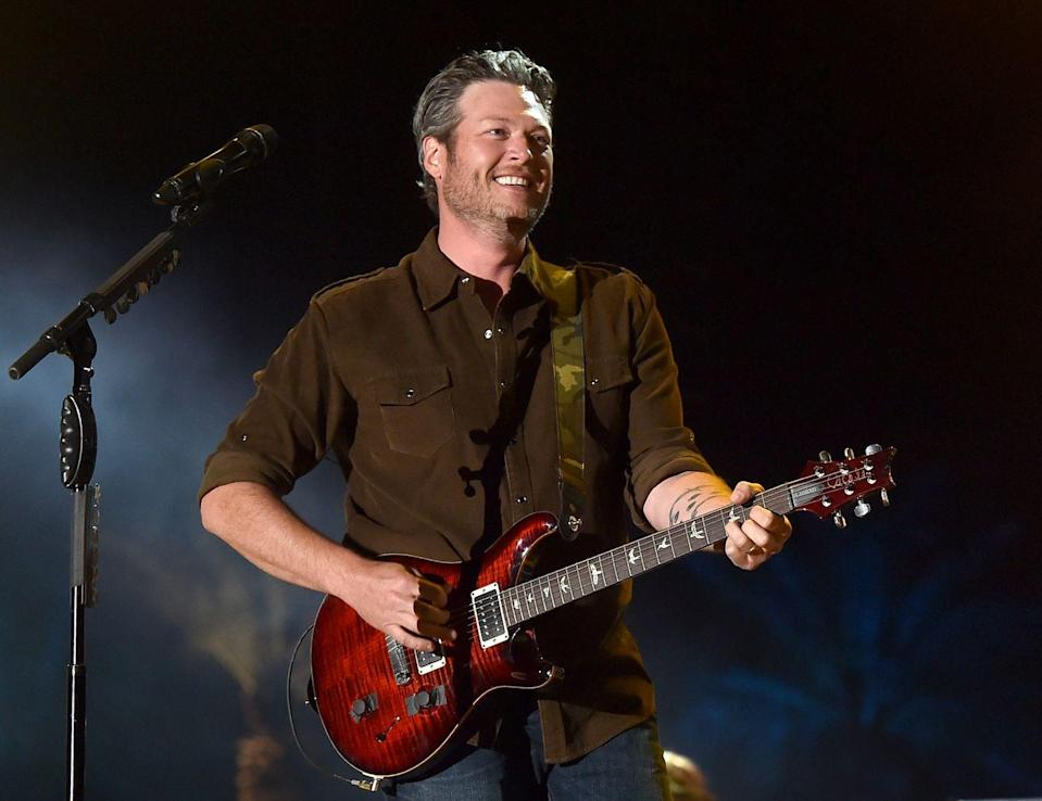 "<p>Blake gets candid in an interview, sharing that Gwen ""saved his life"" and ""was all he could think about."" He also tells <a href=""https://www.billboard.com/articles/news/7453469/blake-shelton-billboard-cover-divorce-miranda-lambert-gwen-stefani-relationship-the-voice-if-im-honest-album"" rel=""nofollow noopener"" target=""_blank"" data-ylk=""slk:Billboard"" class=""link rapid-noclick-resp"">Billboard</a> their relationship started with Gwen extending a helping hand: ""She didn't tell me much, because we didn't know each other at the time, but she said, 'I'm going through something very similar to what you're going through. I understand. And I hate it.'""</p>"