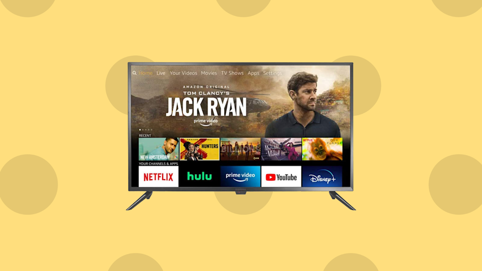 Just take 41 percent off the perfect bedroom TV! (Photo: Amazon)