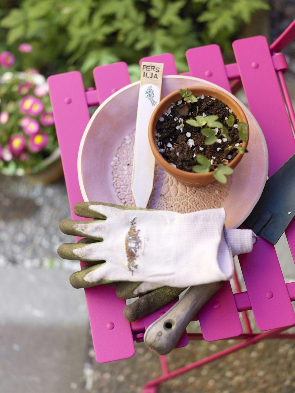 "<p>Of course there's nothing wrong with getting a little dirt on your fingers, but if your gloves are too beat up, you could be susceptible to injuries. Consider repurposing them and the rest of your old tools into <a href=""https://www.countryliving.com/diy-crafts/g2484/repurposed-gardening-tools/"" rel=""nofollow noopener"" target=""_blank"" data-ylk=""slk:pretty DIY projects"" class=""link rapid-noclick-resp"">pretty DIY projects</a>.</p>"