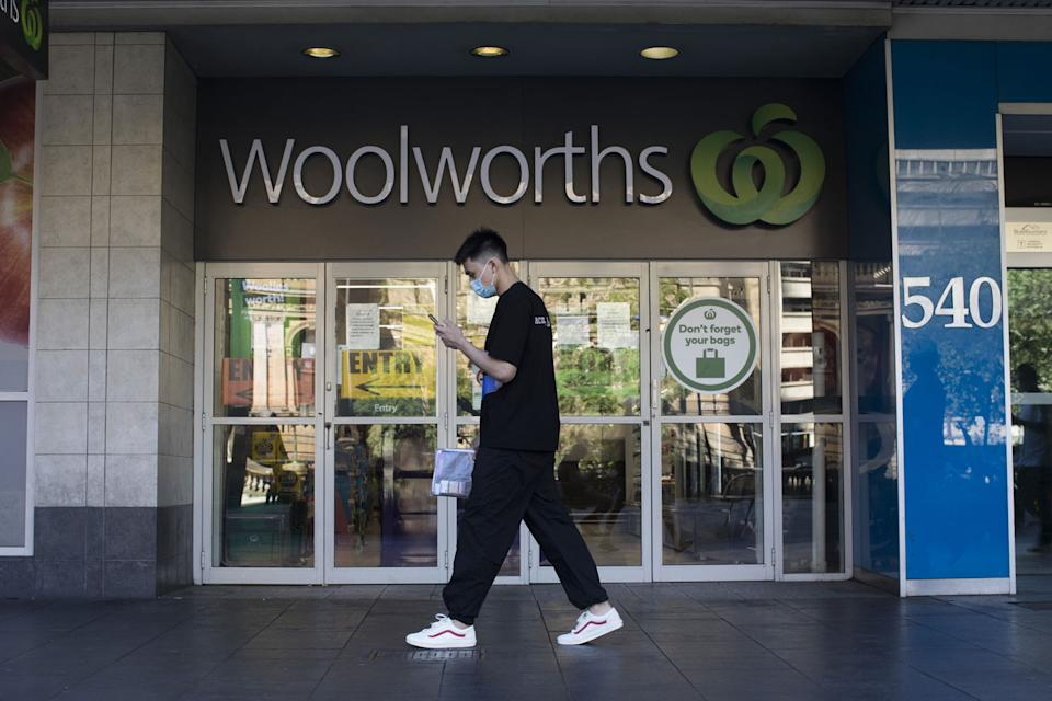 Supermarkets in Greater Sydney are reminded they must comply with public health orders. Source: Getty Images