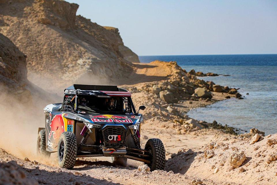 "#383 Red Bull Off-Road Team USA OT3: Seth Quintero, Dennis Zenz<span class=""copyright"">A.S.O. </span>"