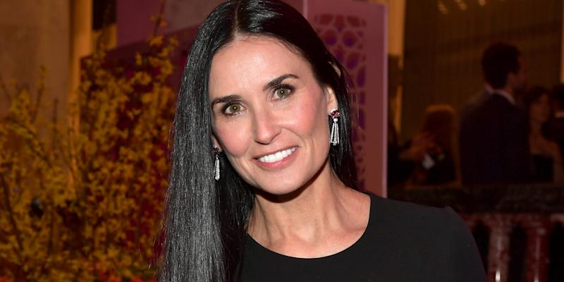 Demi Moore is totally unrecognizable with icy blond hair — see the pics!