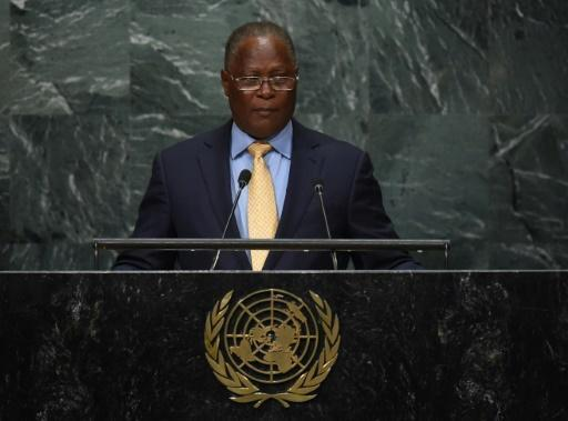 Haiti's leader calls for calm before election results released