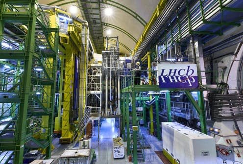 "<span class=""caption"">Cern's LHCb experiment has spotted more evidence of an anomaly in the standard model of physics. </span> <span class=""attribution""><a class=""link rapid-noclick-resp"" href=""http://cds.cern.ch/record/2302374?ln=fr#24"" rel=""nofollow noopener"" target=""_blank"" data-ylk=""slk:© 2018-2021 CERN"">© 2018-2021 CERN</a></span>"
