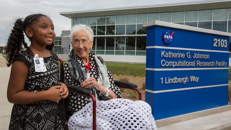 In honor of her contributions to space travel, NASA named a building in Johnson's honor. (NASA)