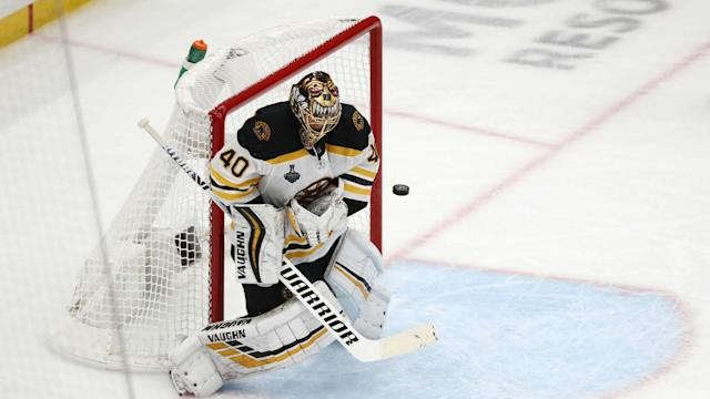 The Boston Bruins forced a Game 7 in the Stanley Cup Final against the St Louis Blues.