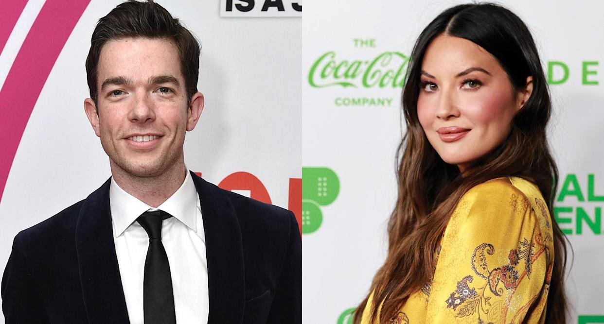 John Mulaney is reportedly dating Olivia Munn after confirming divorce.