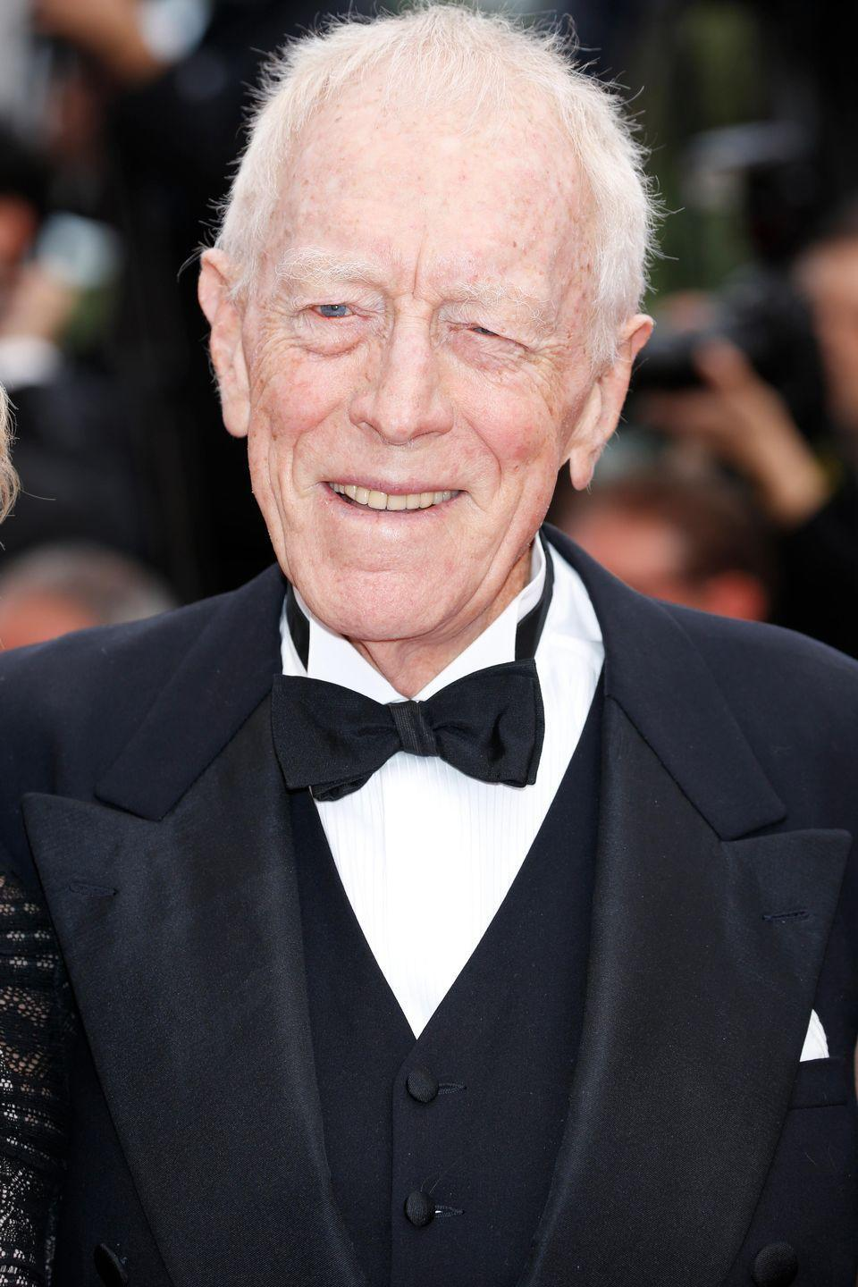 "<p>""It is with a broken heart and with infinite sadness that we have the extreme pain of announcing the departure of Max von Sydow, March 8"" – Agent Jean Diamond</p>"