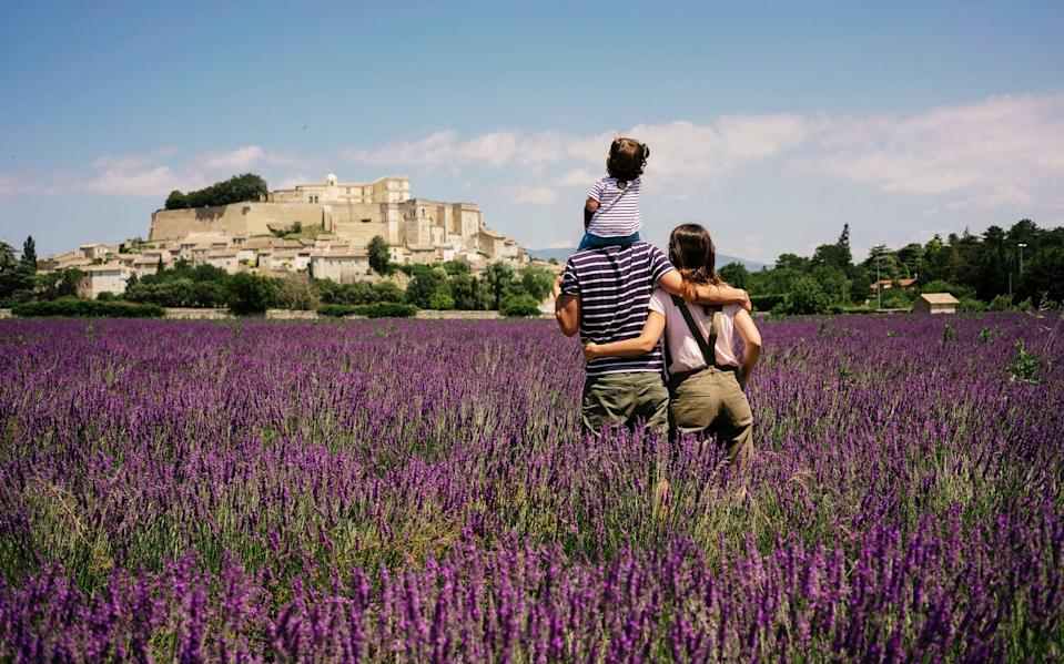 France is one of the easier options for a family holiday this year - getty