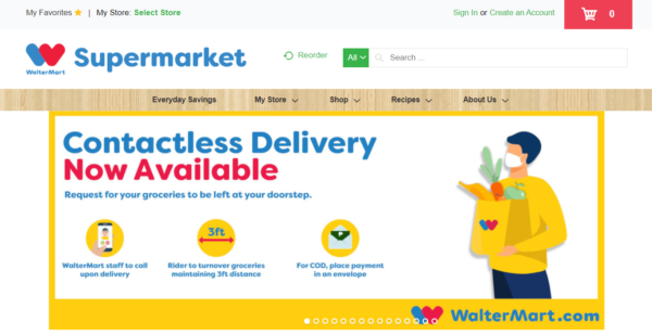 Online Grocery Delivery in the Philippines - Waltermart Delivery