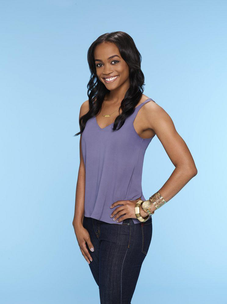 "THE BACHELORETTE - Rachel Lindsay, a fan favorite on the 21st season of ABC's hit romance reality series ""The Bachelor,"" starring Nick Viall, was named as the next woman to hand out the roses and attempt to find her own happy ending when ""The Bachelorette"" premieres for its 13th season, MONDAY, MAY 22 (9:00-11:00 p.m. EST), on The ABC Television Network. (ABC/Mitch Haaseth) RACHEL LINDSAY"