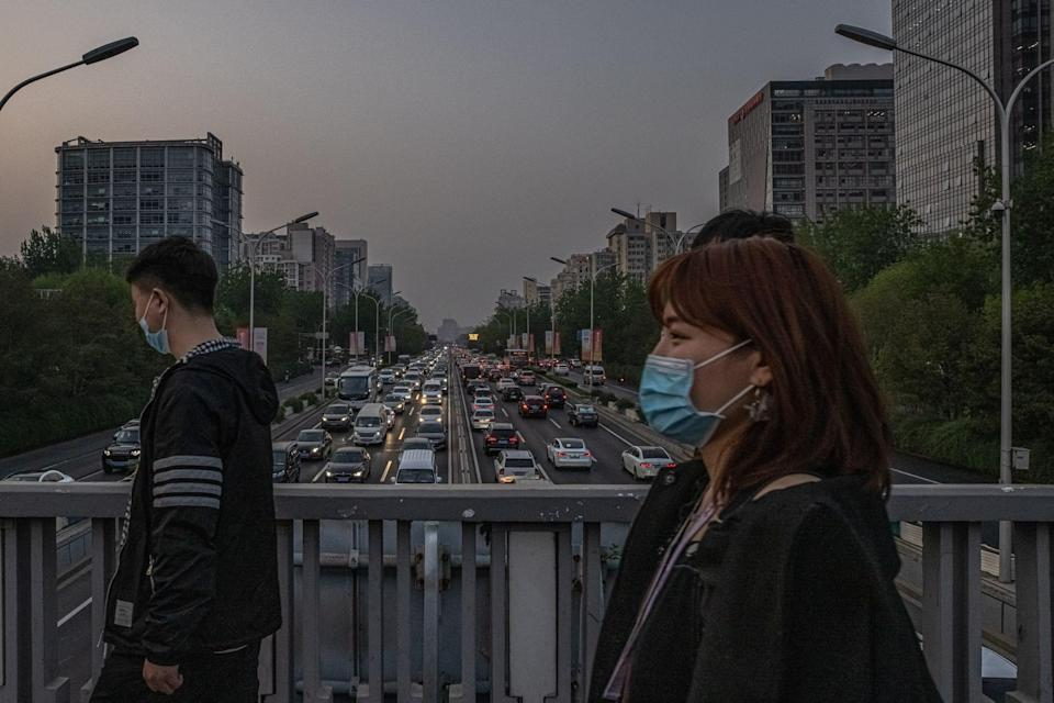 China and the US, the world's two biggest carbon polluters, have agreed to cooperate to tackle climate change ahead of the Leaders Summit on Climate. Photo: EPA-EFE