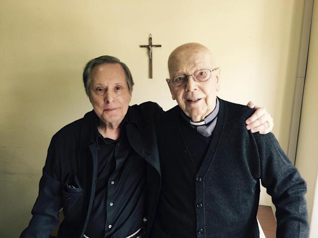 William Friedkin and the titular subject of his new documentary, <em>The Devil and Father Amorth.</em> (Photo: The Orchard)