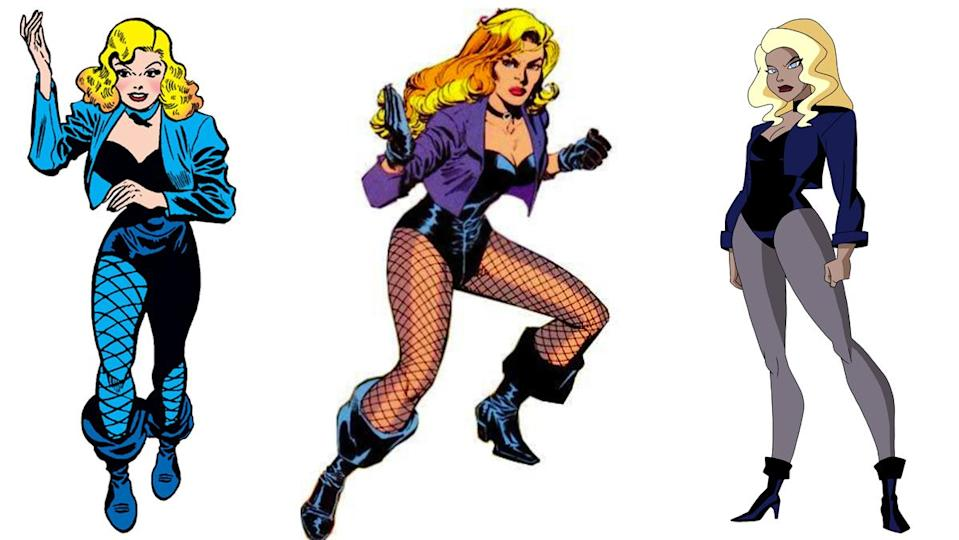 Fishnets and heels might be impractical to fight crime in, but Black Canary makes it work.
