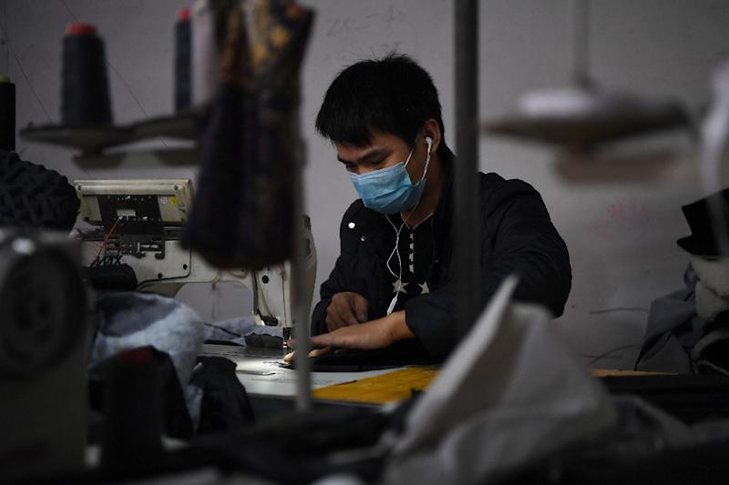 The case follows an EU investigation last year that found Britain turned a blind eye to the use of fake invoices and customs claims by Chinese textiles importers (AFP Photo/GREG BAKER)