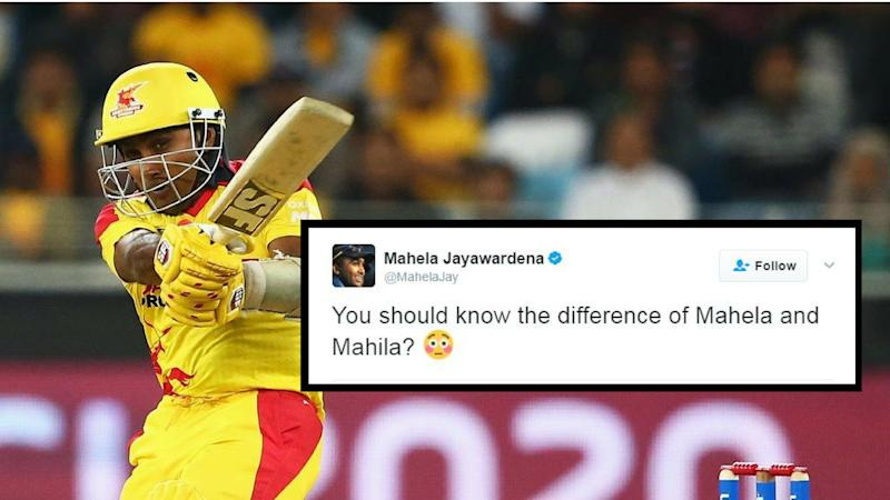 Indian Gets Trolled For Wishing Mahela Jayawardena On Women's Day