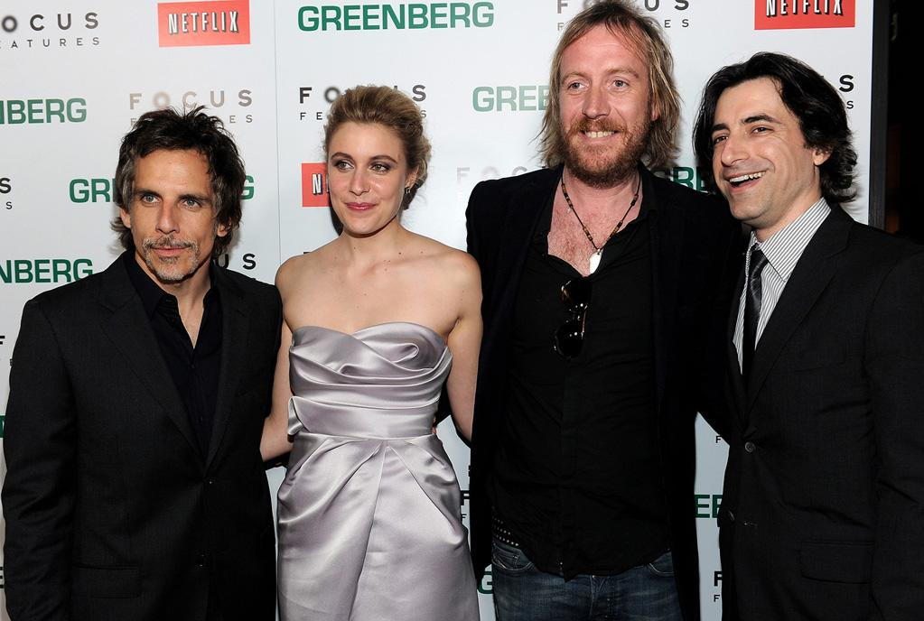 """<a href=""""http://movies.yahoo.com/movie/contributor/1800019193"""">Ben Stiller</a>, <a href=""""http://movies.yahoo.com/movie/contributor/1809747218"""">Greta Gerwig</a>, <a href=""""http://movies.yahoo.com/movie/contributor/1800018838"""">Rhys Ifans</a> and director <a href=""""http://movies.yahoo.com/movie/contributor/1800023533"""">Noah Baumbach</a> at the Los Angeles premiere of <a href=""""http://movies.yahoo.com/movie/1810076160/info"""">Greenberg</a> - 03/18/2010"""