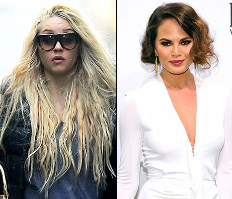 """Amanda Bynes, Chrissy Teigen Feud on Twitter: """"You're an Old, Ugly Model Compared to Me!"""""""