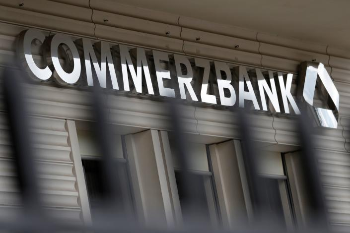 The FCA said Commerzbank had failed to carry out periodic due diligence on its clients and tackle ongoing weaknesses in its automated tool for monitoring money laundering risks. (Odd Andersen/AFP via Getty Images)