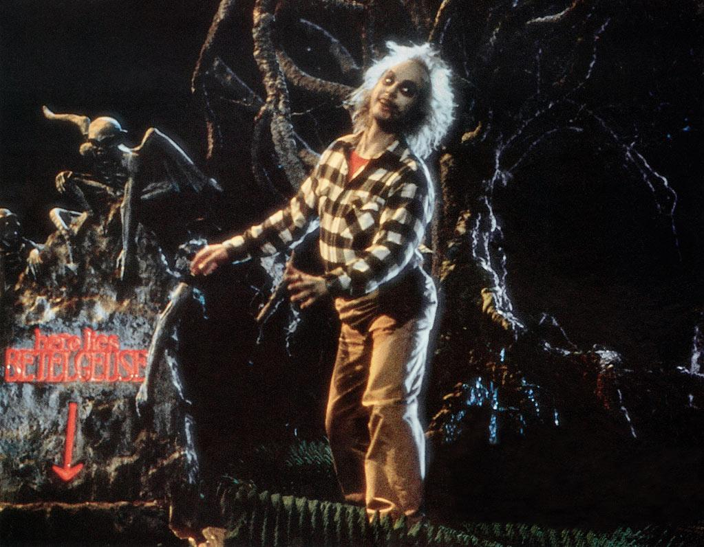 "'Beetlejuice' (1988): The ultimate crystallization of Burton's signature style. The comic-horror tone he sets here provides the basis for comparison to everything else that followed. This movie is such a trip and such a blast. Michael Keaton (who would go on to be Burton's Batman) does some of the best work of his career here as the crass, wisecracking spirit who helps the newly deceased Geena Davis and Alec Baldwin haunt their own home. The effects look a little cheesy in retrospect but the subversive sense of humor remains firmly intact. ""Beetlejuice"" makes the macabre seem downright adorable."