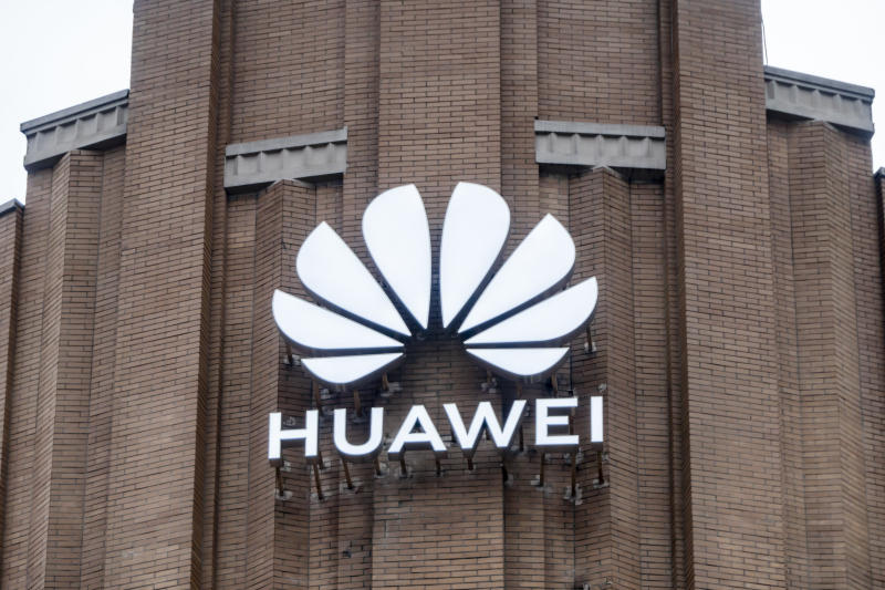 SHANGHAI, CHINA - JUNE 29, 2020 - Huawei's largest flagship store in the world, Shanghai, China