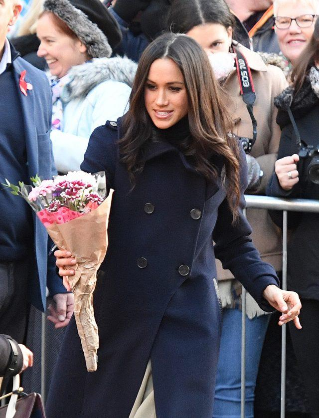 Ms Markle accepted everything from bars of chocolate to cards of congratulations (Victoria Jones/PA)