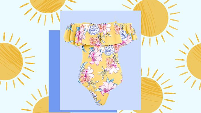 Check out too-cute swimsuits for less at Venus.