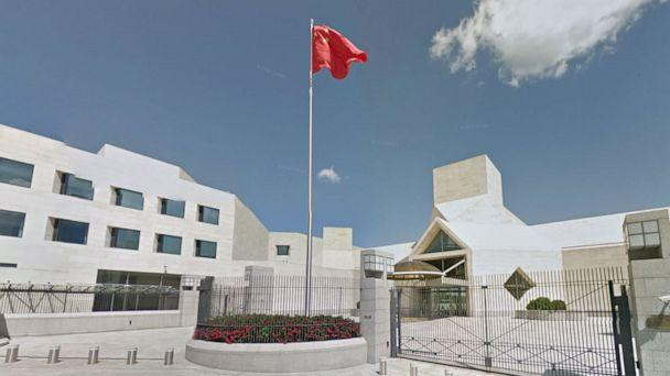 PHOTO: A Google Maps Street view of the Chinese embassy in Washington, D.C. (Google Maps Street View)