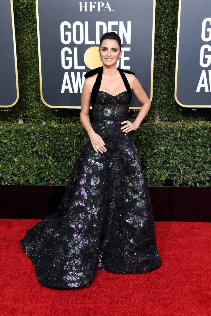 <p>Penélope Cruz attends the 76th Annual Golden Globe Awards at the Beverly Hilton Hotel in Beverly Hills, Calif., on Jan. 6, 2019. (Photo: Getty Images) </p>